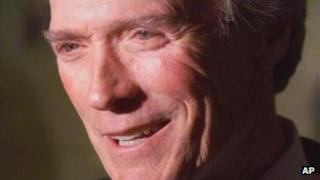 Clint Eastwood file picture