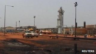 Heglig oil field