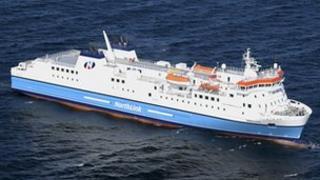 NorthLink boat Hjaltland