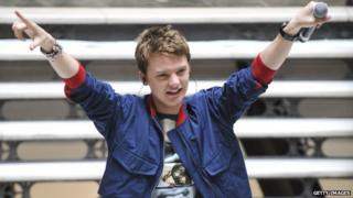 Conor Maynard gets number one album