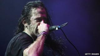 Randy Blythe of US metal band Lamb of God