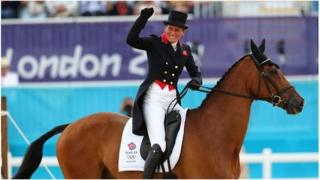 Mary King at the London 2012 Olympic Games