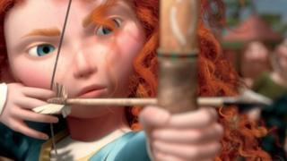 Image of Brave's heroine, Merida