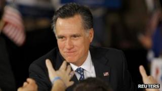 Mitt Romney file picture