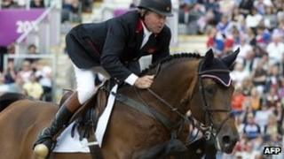 Team GB's Nick Skelton