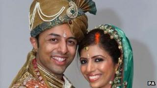 Shrien and Anni Dewani