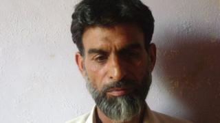 Ejaz Ahmad, former militant
