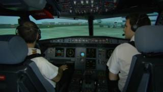 L-3 flight simulator
