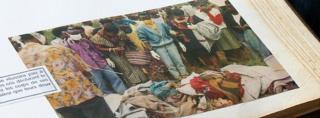 Rose Hakizimana's photo album documenting the massacre of Tutsis in Burundi in 1993