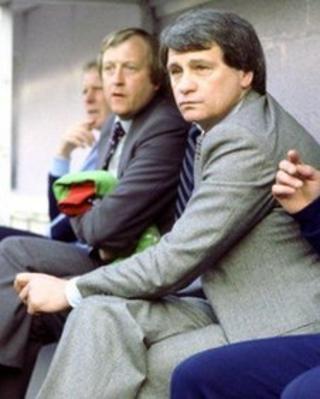 Trevor Kirton and Bobby Robson