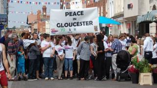 Peace in Gloucester march takes place