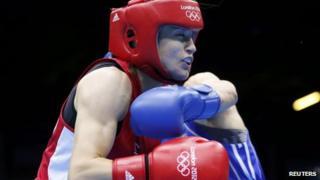 Katie Taylor fights Russia's Sofya Ochigava