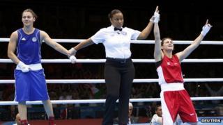 Katie Taylor declared victor over Russia's Sofya Ochigava