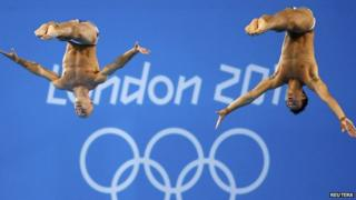 Divers Tom Daley and Peter Waterfield