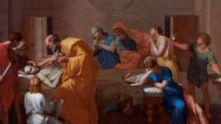 Extreme Unction by Nicolas Poussin