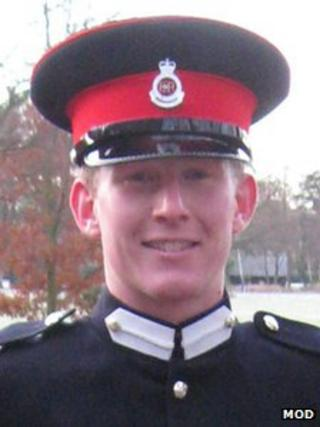 Lt Andrew Chesterman