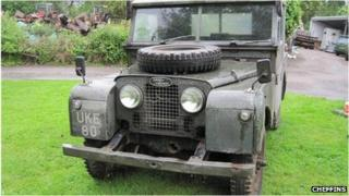 Winston Churchill's Land Rover