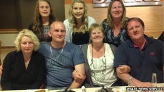 Dawn Harkins' family
