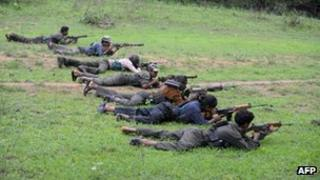 Maoists in Chhattisgarh (July 2012)