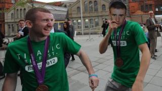 Paddy Barnes and Michael Conlan