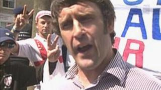 Tony Sutcliffe - concern about exposure as far right supporter