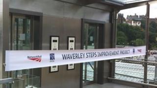 Edinburgh's Waverley station lift