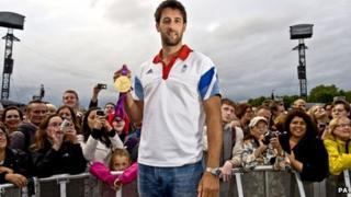 Wrexham gold medal rower Tom James