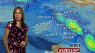 Weather forecast for Wales 15th August 2012