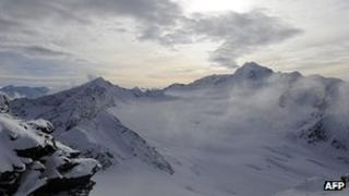 Austrian Alps - file pic