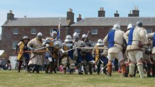Re-enactment of the Battle of Sauchieburn