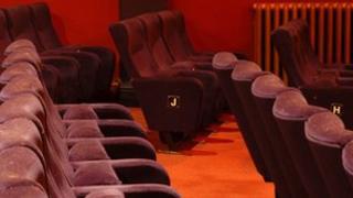 Seats in the Duke of York's Cinema