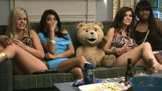 A scene from the Universal Pictures film Ted