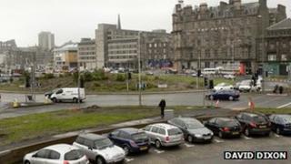 Dundee car park