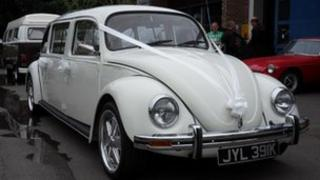 VW stretch Beetle limo