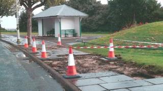 Pavement stolen in Penarth