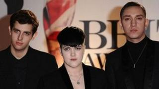 The xx at the 2011 Brit Awards