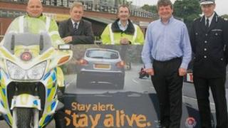 'Stay alert, stay alive' road safety campaign