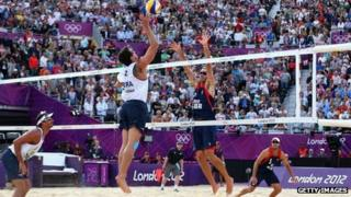 Beach volleyball proved popular at the London 2012 Olympics