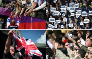 The contrasting responses to Olympians and footballers
