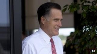 Mitt Romney. Photo: 16 August 2012
