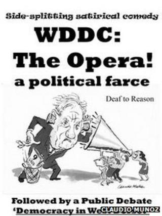Poster for political opera