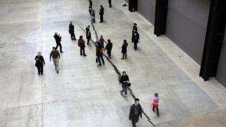 Shibboleth by Doris Salcedo at Tate Modern