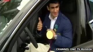 Russian medalist