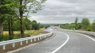 New slip road