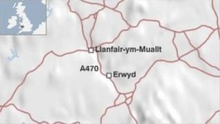 map o'r ardal