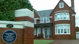George Formby's former home in Lancashire