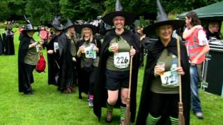 Witches record attempt