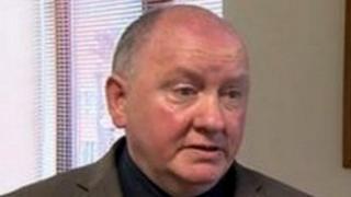 NUJ Irish secretary Seamus Dooley