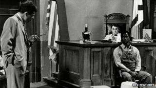 William Windom (left) in To Kill A Mockingbird