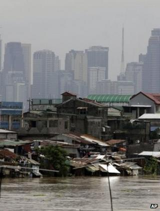 Shanty town, Manila (Image: AP)